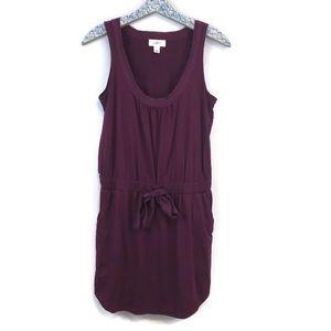 Ann Taylor LOFT sleeveless pocket dress size small
